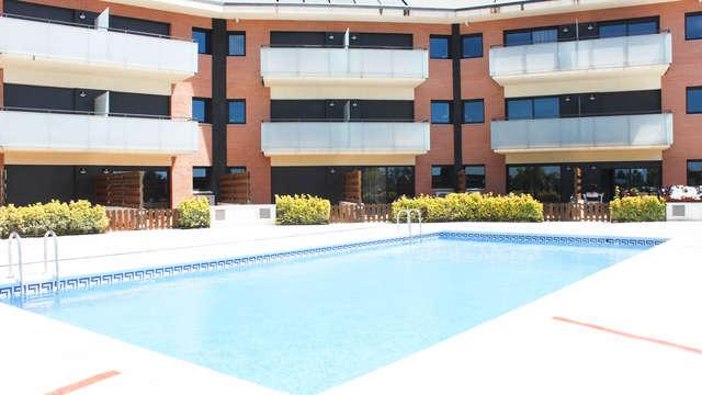 Vacaciones como en casa en un apartamento con familia o amigos en Santa Susanna (desde 2 noches)