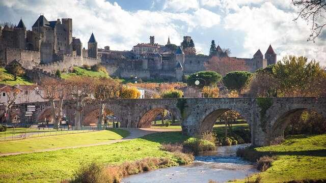 Recorre las calles históricas de Carcassonne