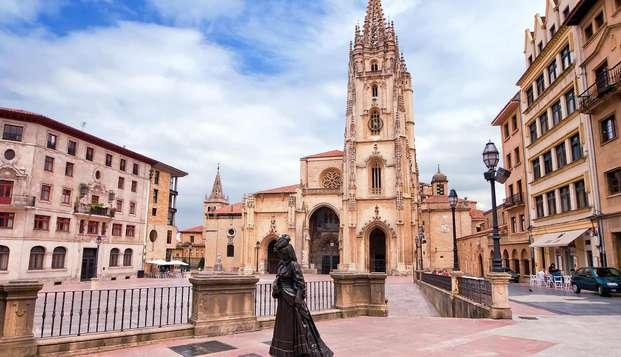 Recorre las calles históricas de Oviedo