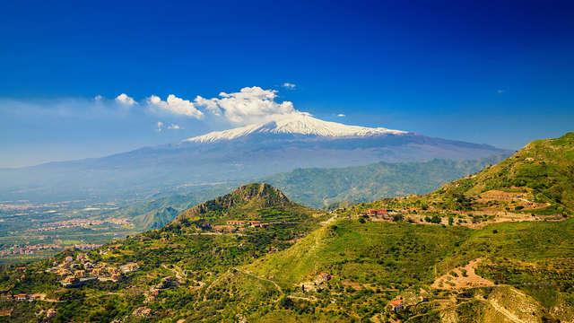 Vacanza ai piedi dell'Etna con traghetto Grimaldi incluso (9 giorni/7 notti)
