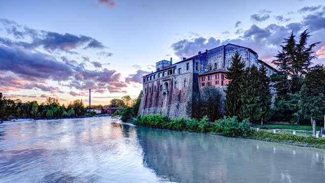 Charme aan de oevers van de rivier Adda in de buurt van Monza