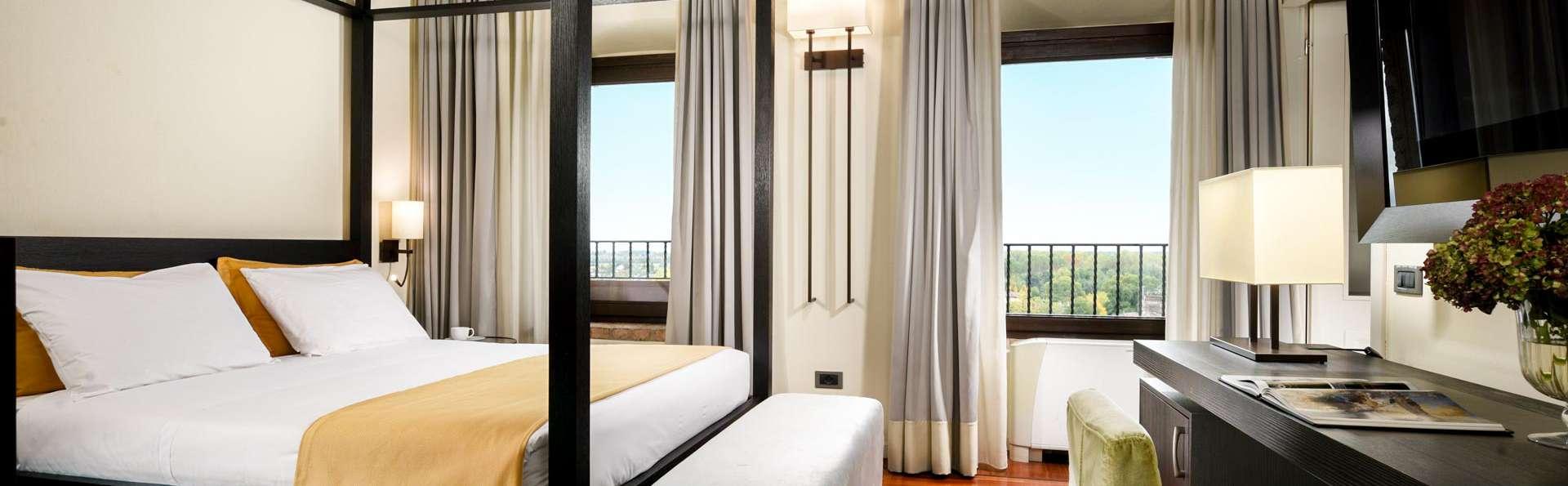 Week-end romantique en chambre supérieure avec Prosecco Valdobbiadene dans votre chambre