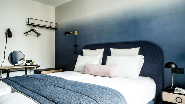 Week-end aux portes de Paris dans un hôtel design