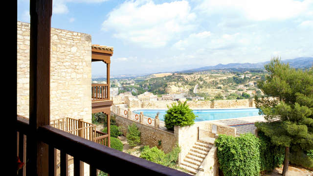 Escapada en el impresionante castillo de la Zuda con vistas espectaculares  de Tortosa
