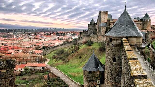 Flânez dans les ruelles historiques de Carcassonne