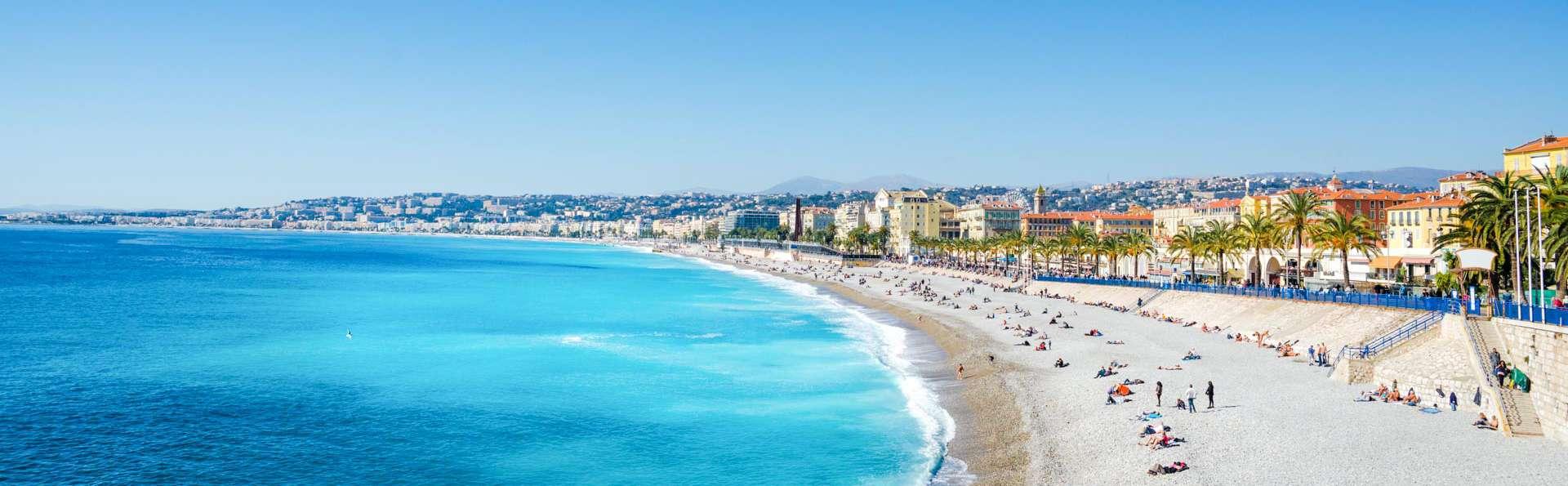 Brise iodée sur la Côte d'Azur à Nice