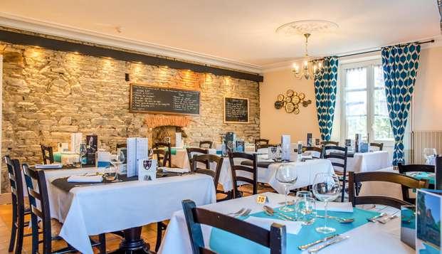 Parenthèse gourmande dans hôtel de charme aux portes de la Bretagne