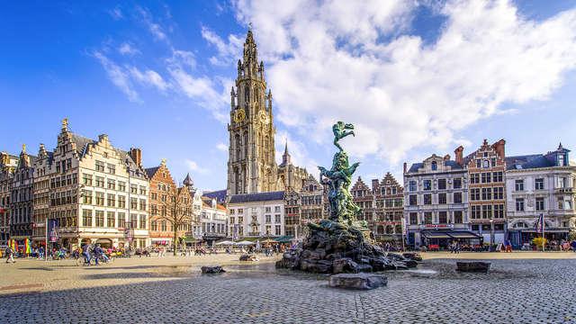 Séjournez dans cet hôtel moderne du centre d'Anvers