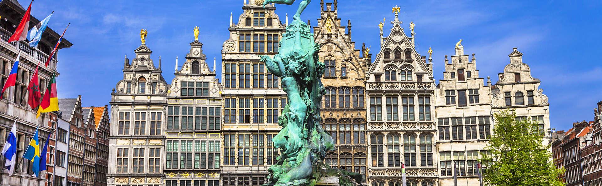 Explorez l'agréable ville portuaire d'Anvers