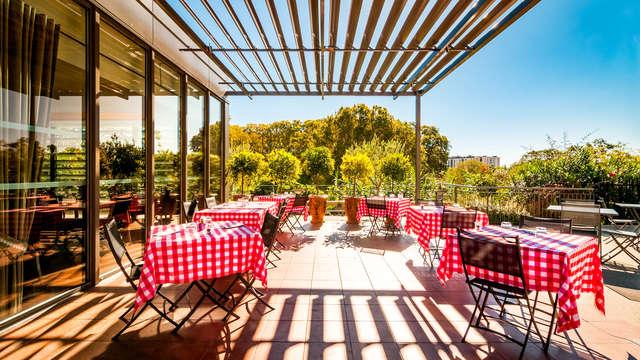 Relaxez-vous et dégustez un délicieux repas dans un superbe hôtel aux portes de Montpellier