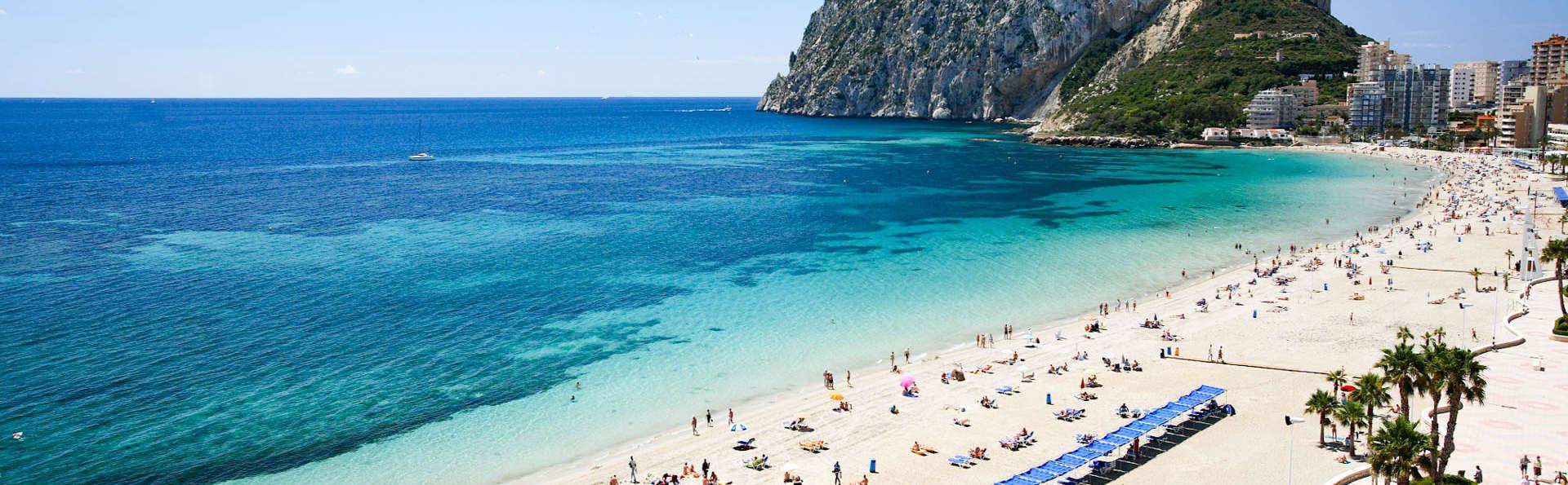 El paraíso a tu alcance: escapada en Calpe a un paso de la playa