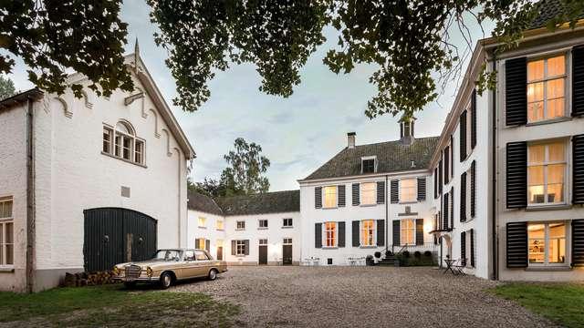 Luxe, comfort en overnachten in een prachtig middeleeuws kasteel