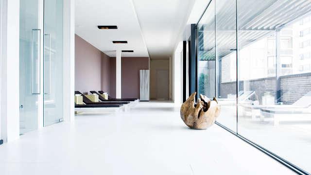 Verblijf in uniek design hotel en geniet in de Carbon sense spa
