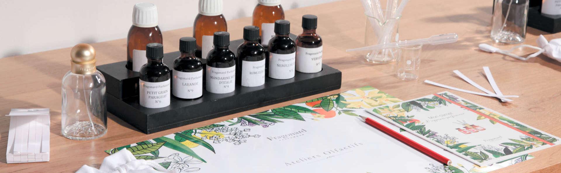 Séjour aux portes de Paris et visite du Musée du parfum Fragonard