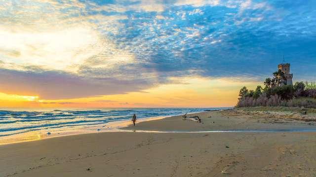 Soggiorno al mare in Abruzzo in pensione completa, con spa e ingresso alla spiaggia inclusi