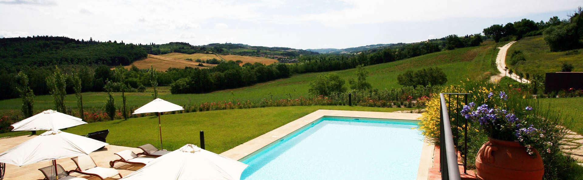 Charme rural dans les collines toscanes