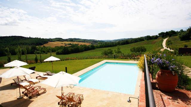 De aantrekkingskracht van het platteland in de Toscaanse heuvels