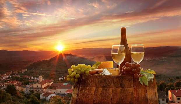 Oferta: ¡estancia con degustación de vinos y cervezas en Toscana! (a partir de 2 noches)
