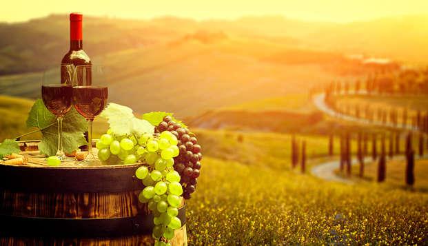 Disfruta de una Suite Júnior en la Toscana y de una excelente cata de vinos