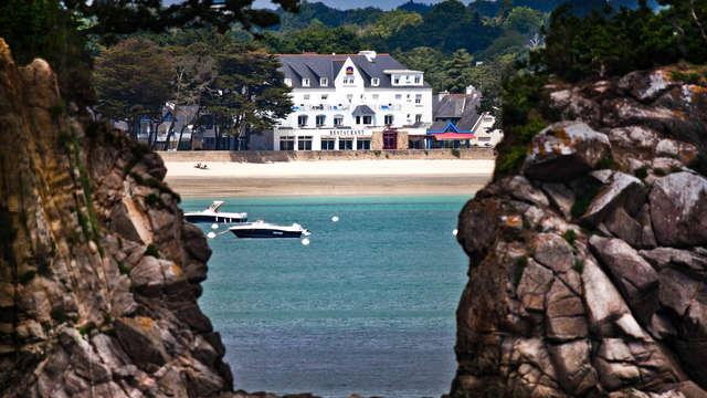 Parenthèse face à l'océan sur les plages du Finistère