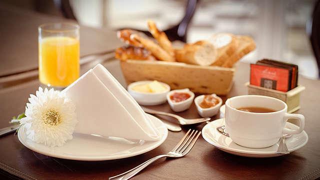 Desayuno Continental para 2 adultos