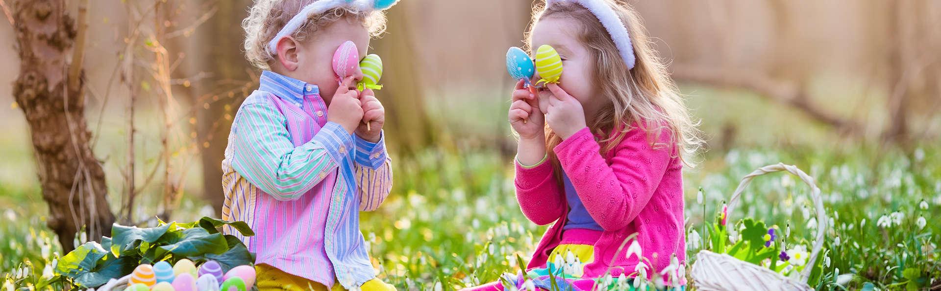 Offre spéciale Pâques avec atelier chocolat et chasse aux œufs