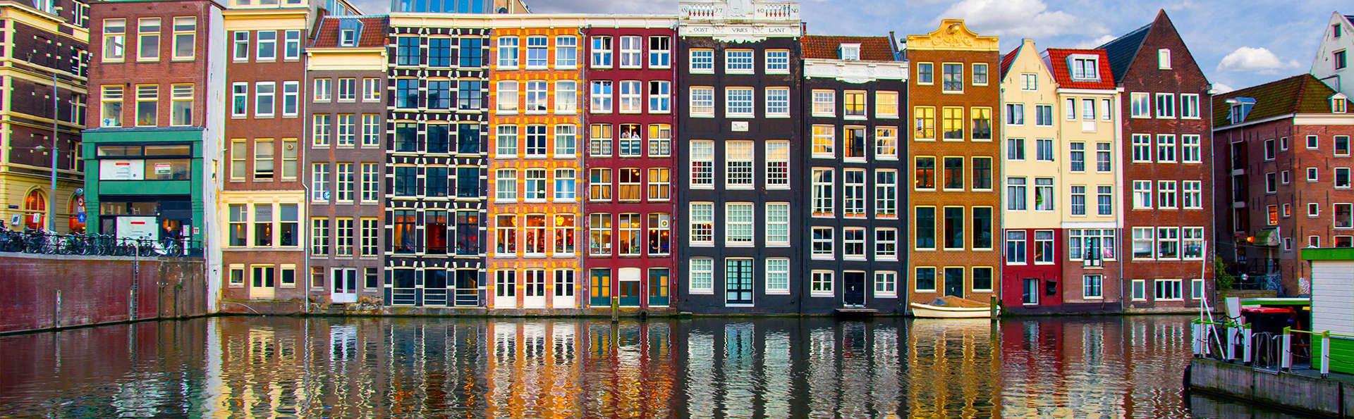 Séjour en ville à Amsterdam et détente au sauna