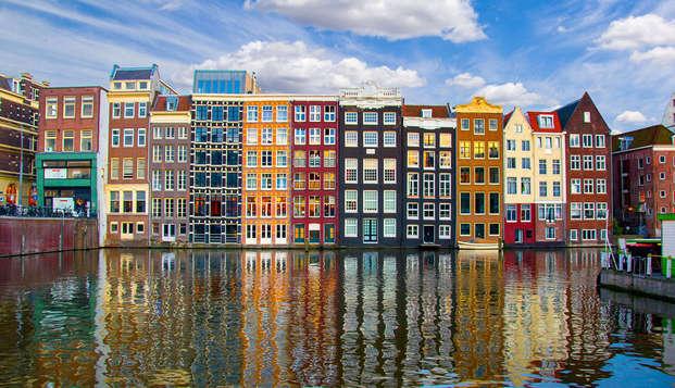 Citytrip naar Amsterdam en ontspannen in de sauna