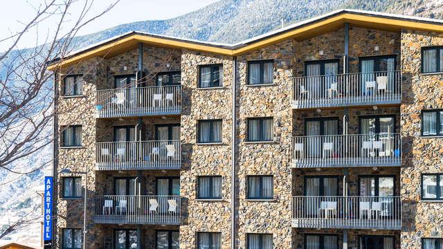 Demi-pension en Andorre, enfants inclus
