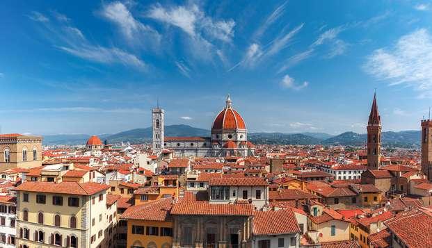 Fin de semana romántico en Florencia con mejora de habitación y botella de bienvenida
