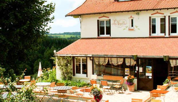 Week-end de charme et invitation à la détente dans les Vosges