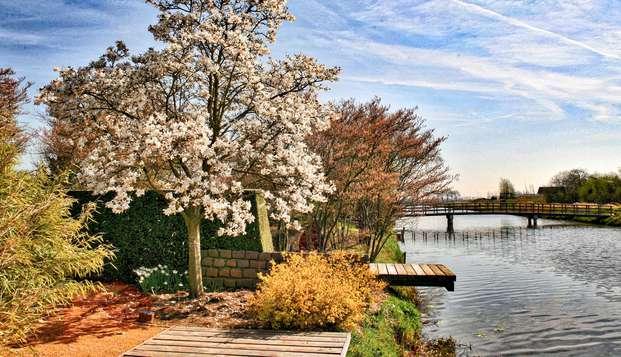 Profitez d'une nuit relaxante, d'un dîner et d'une visite des jardins d'Appeltern