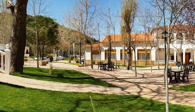 Media Pensión y relax en Reolid, el corazón de la Sierra de Albacete