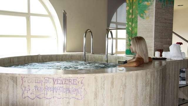 Relax & Benessere: soggiorno con SPA e massaggio con vista sulla Baia di Taormina