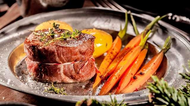 Escapada gastronómica en Burgos a 5 minutos de la catedral con cena incluida