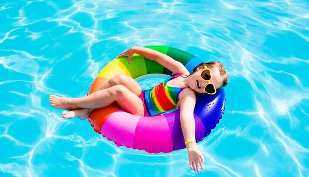 Vacaciones en familia con niño incluido y pensión completa (desde 3 noches)