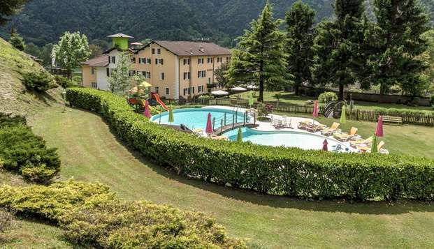 Soggiorno romantico in Trentino nel cuore della Val di Ledro