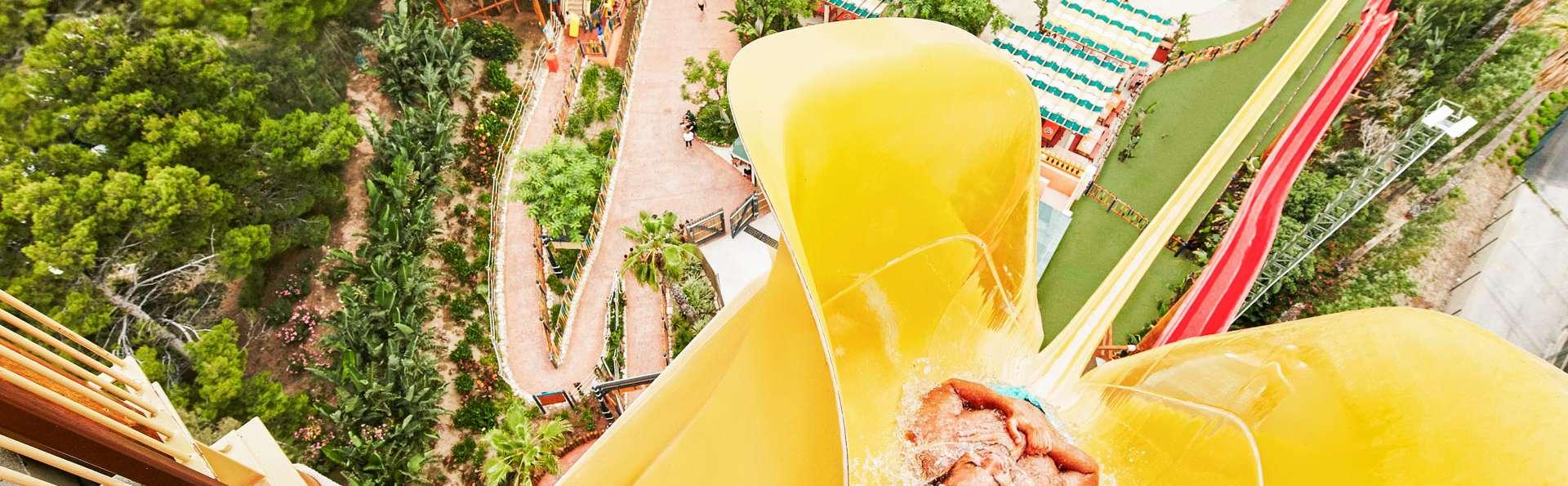 Diversión sobre el agua : aventúrate junto a tu familia en el parque acuático de PortAventura World