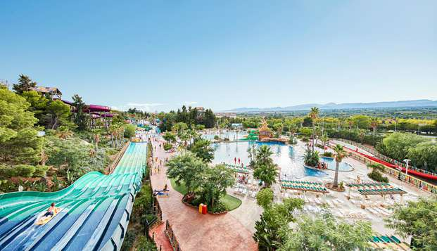Pasa un día refrescante en Tarragona en el Parque acuático de PortAventura