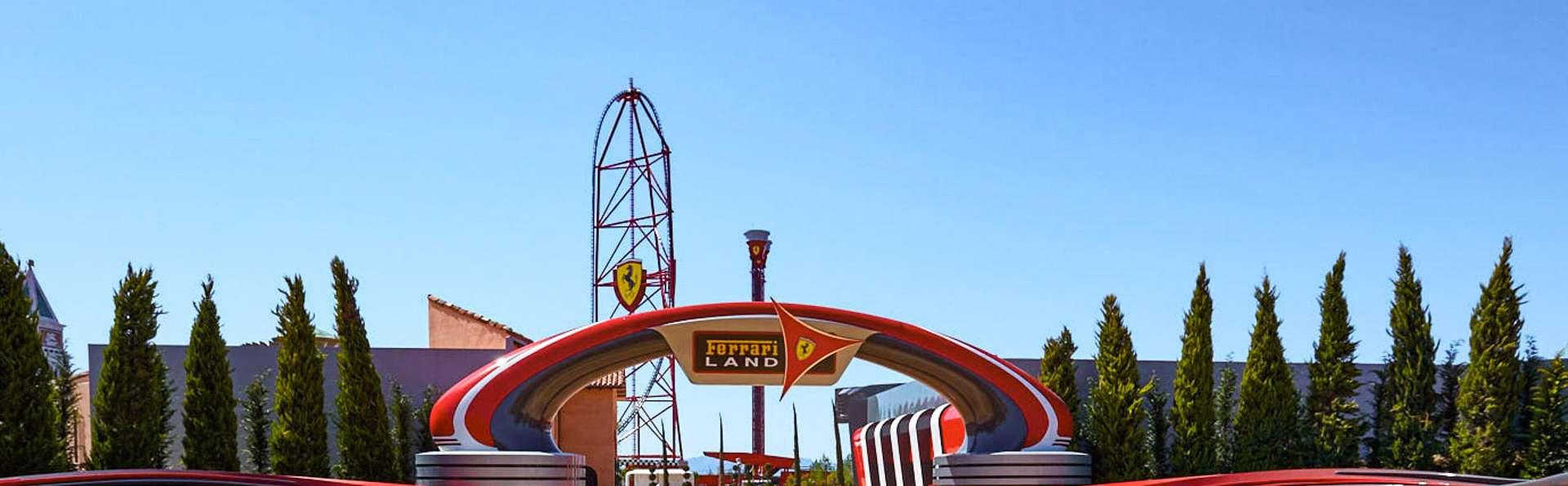 Découvrez le monde unique de Ferrari dans le nouveau parc de PortAventura (à partit de 2 nuits)