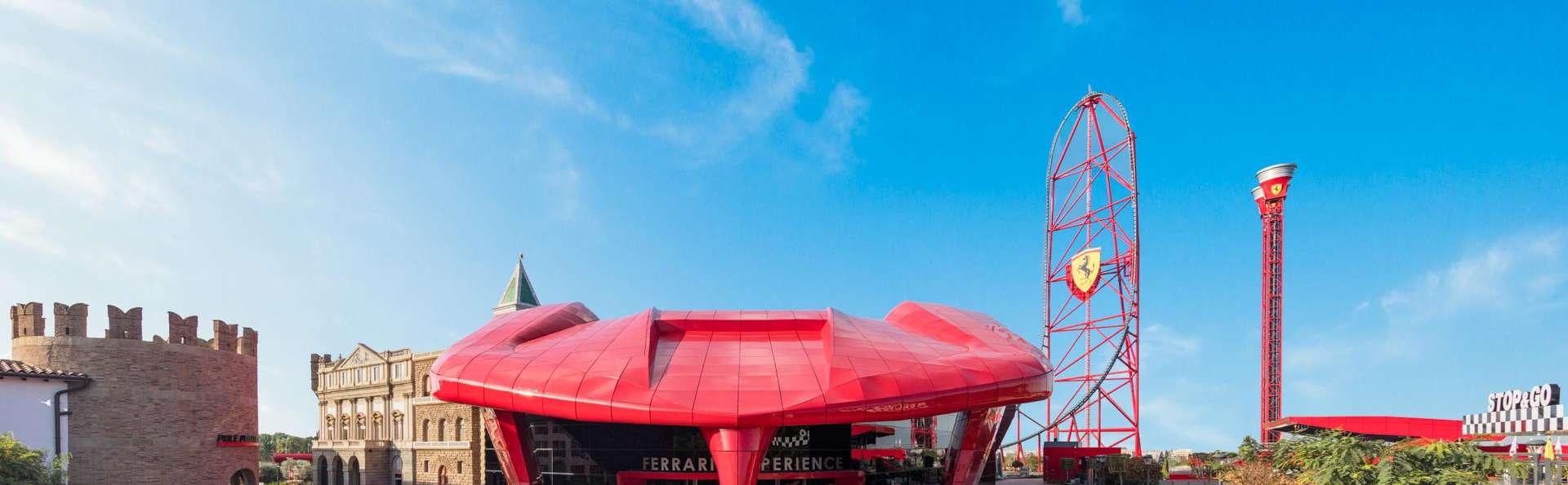 Aventure et émotion au parc Ferrari Land et au PortAventura Park (à partir de 2 nuits)