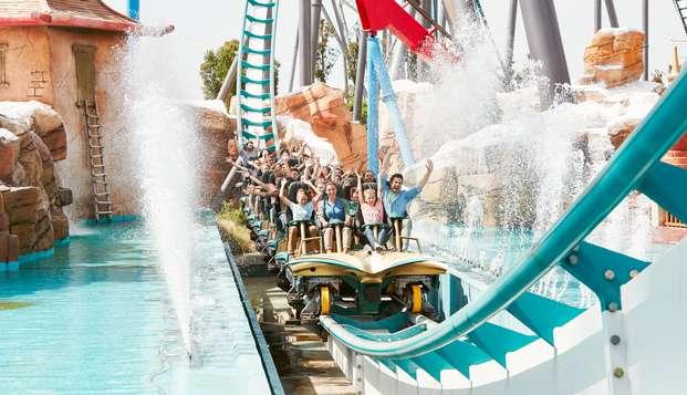 Relax y diversión con entradas para un día en PortAventura y Ferrari Land en Salou