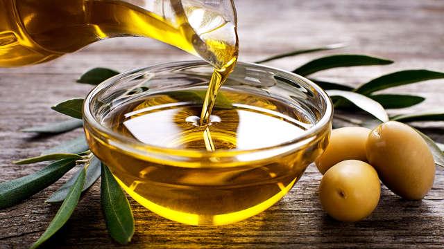 Experiencia Oleosalud al completo: masaje integral, degustación de aceite y una visita a la Almazara