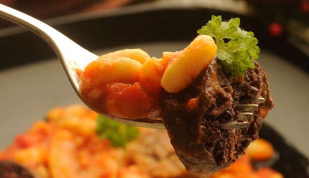Escapada con Spa y Cena típica asturiana en el corazón de Asturias