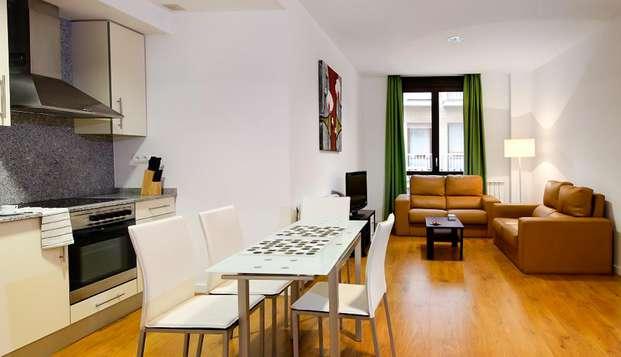 Disfruta de Zaragoza en un apartamento para 4 personas