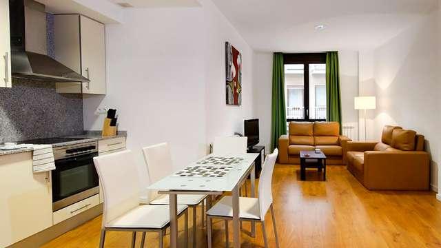 Profitez de Saragosse dans un appartement pour 4 personnes