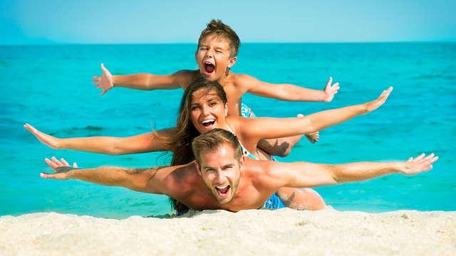 Vacances avec un enfant et formule tout compris à Lloret de Mar
