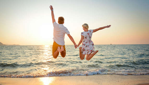 Escápate a la Costa Brava en pensión completa en pareja