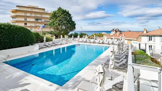 Pause ensoleillée à Biarritz