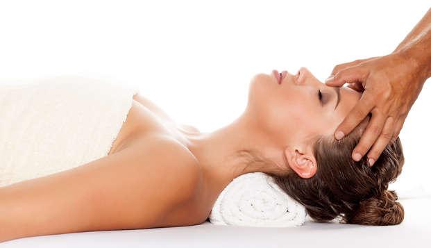 Escapada relax con masaje craneal en una casona gallega con encanto